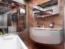 Дизайн ванной комнаты. Вид 3